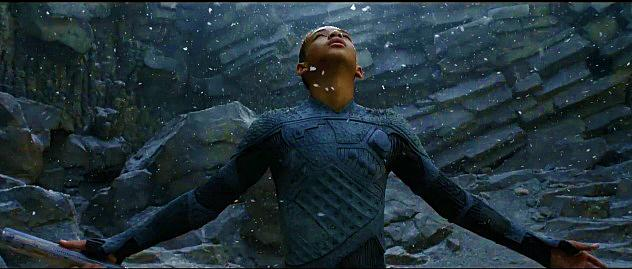 Jaden Smith stars in M. Night Shyamalan's After Earth...1000 years after the cataclysm